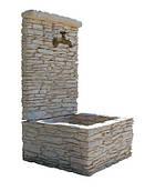 Декоративный фонтан для сада Стриа PIERRA Франция