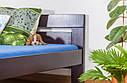 Кровать двуспальная односпальная деревянная 180х200 Массив дуба Ліжко, фото 6