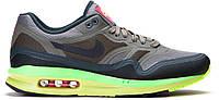 Кроссовки Кроссовки Nike Air Max 1 Lunar в серо-салатовом цвете