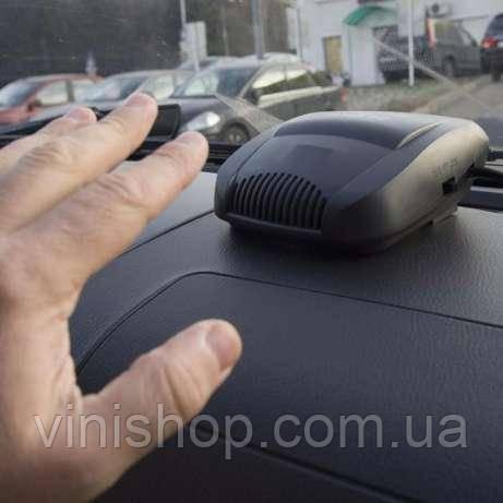 Автомобільний керамічний обігрівач + вентилятор
