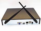DVR WiFi KIT HD720 4-канальный Беспроводной Видеорегистратор (4 камеры в комплекте), фото 5
