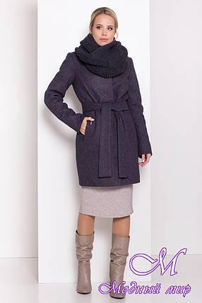 Женское зимнее пальто с хомутом (р. S, M, L) арт. Г-82-95/44407, фото 2