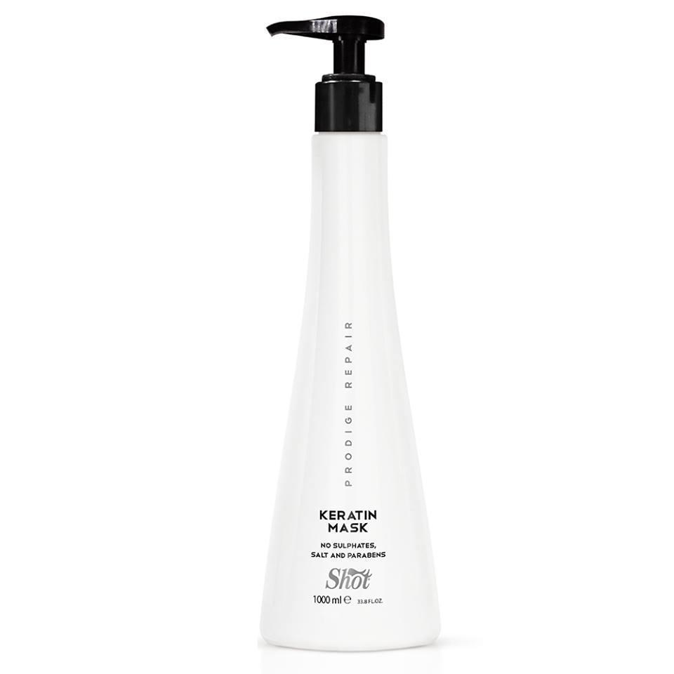 Shot prodige repair keratin Маsk Maска интенсивная для глубокого восстановления поврежденных волос, 950 мл