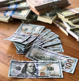 """Сувенірні гроші """"100 доларів"""", Сувенирные деньги """"100 долларов"""""""