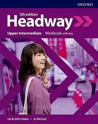 New Headway 5th Edition Upper-Intermediate Workbook with key / тетрадь