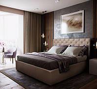 Кровать двуспальная Ковентри 1,4*2 м с подъемным механизмом