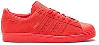 Мужские кроссовки Adidas Superstar London в красном цвете, фото 1