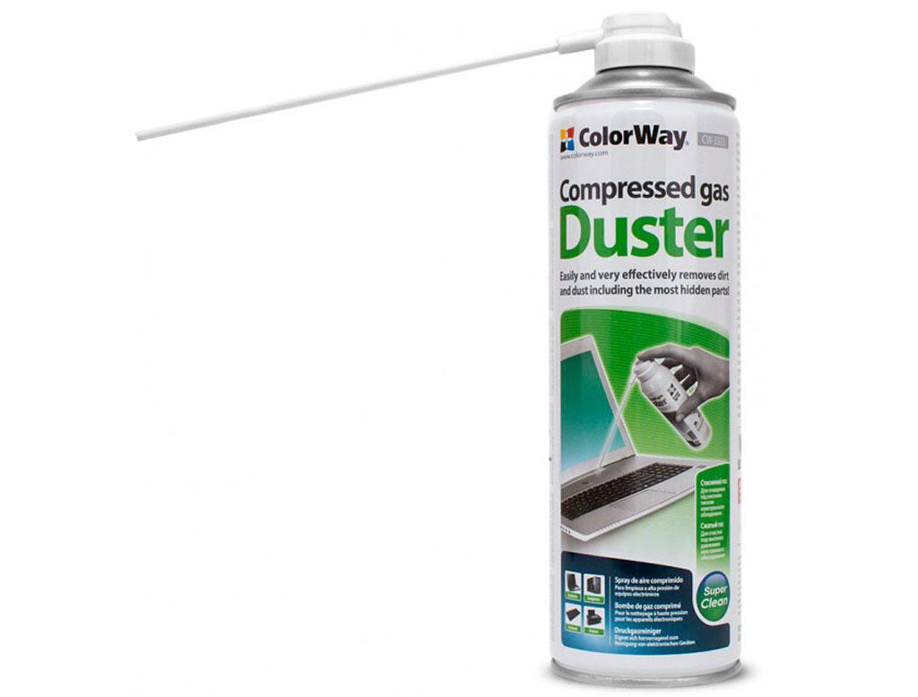 Чистящий cжатый воздух spray duster 500ml ColorWay (CW-3333)