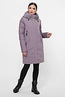 L, XL, XXL / зимова тепла куртка, лілового кольору