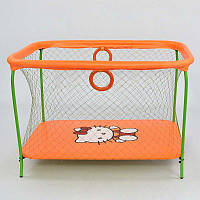 Манеж ЛЮКС Hello Kitty Оранжевый (68192) прямоугольный