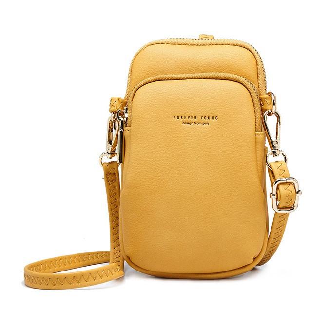 Небольшая женская сумочка через плечо Pierre Loues PL832-3 из экокожи, с двумя отделениями, 1л