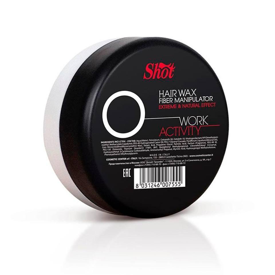 """Shot wax-manipulator """"о"""" Воск-манипулятор с экстремальным и натуральным эффектом 100 мл"""
