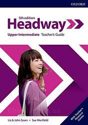 New Headway 5th Edition Upper-Intermediate Teacher's Guide with Teacher's Resource Center / книга для учителя