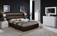 Кровать двуспальная Эдинбург 1,4*2 и 1,4*1,9  м с подъемным механизмом