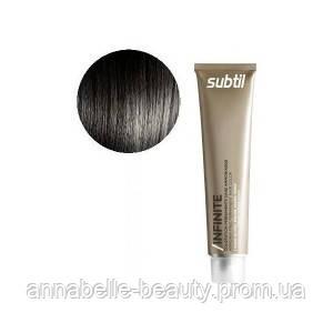 Ducastel Subtil Infinite - стойкая крем-краска для волос без аммиака 3 - тёмный шатен, 60 мл