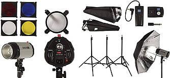 Набор импульсного света FST PHOTO EG-300DI IP33 + радиосинхронизатор