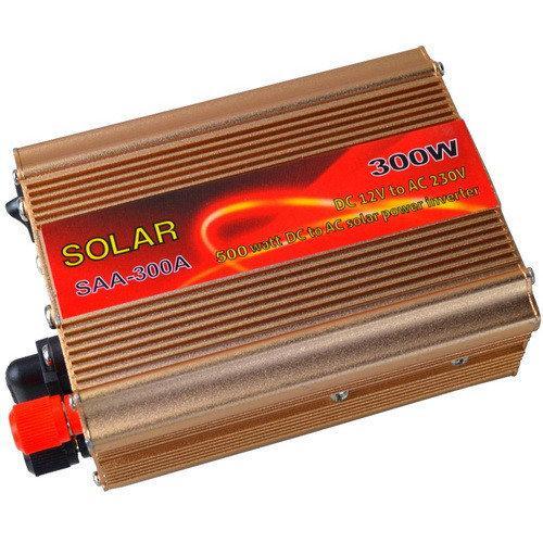 Преобразователь постоянного тока в переменный Solar SAA-300A(300W) с DC12V в AC220V + USB
