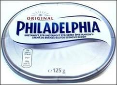 Крем-сыр Филадельфия классический, 125 г (Польша)