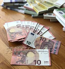 """Сувенірні гроші """"10 євро"""", Сувенирные деньги """"10 евро"""""""