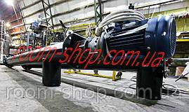 Шнековый питатель (транспортер, живильник) диаметром 219 мм., длиною 2 метра, фото 2