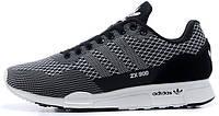 Мужские кроссовки Adidas ZX-900 в черно-белом цвете, фото 1