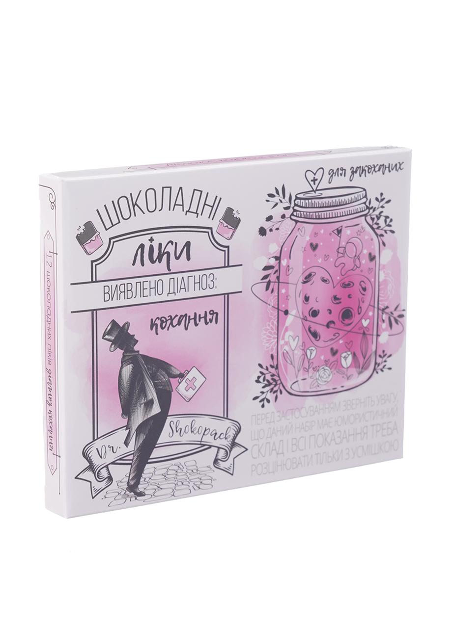 Шоколадный набор Shokopack лекарство для любви 12 х 5 г Молочный