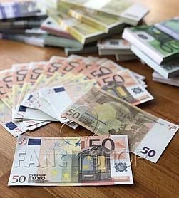 """Сувенірні гроші """"50 євро"""", Сувенирные деньги """"50 евро"""""""