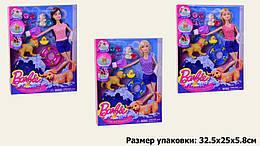 Кукла шарнирная, аксессуары, собака, 3 вида, HB015