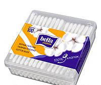Ватные палочки 100 шт. (пласт упаковка) Белла Bella