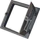 Дверка топочная на защелке ДТЗ-4 (250 х 265 мм.), фото 2