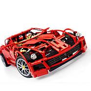 "Конструктор Decool 3333 (аналог Lego Technic 8145) ""Ferrari 599 GTB Fiorano "" 1322 детали, фото 2"