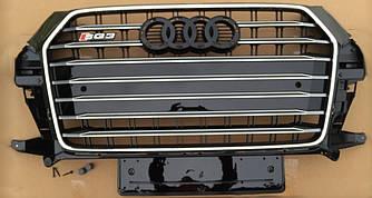 Решетка радиатора для Audi Q3 (15-18) стиль SQ3