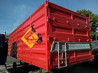 """Стальной кузов тип """"Зерновоз"""" 34 м³ 7,5 м борт 1.9 м в наличии, фото 1"""