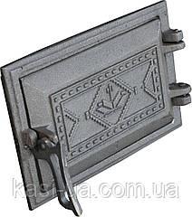 Дверка поддувальная (зольная) на защелке ДПЗ-2 (265 х 165 мм.)