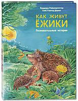 Детская книга Как живут ёжики Познавательные истории Для детей от 0 до 6 лет, фото 1