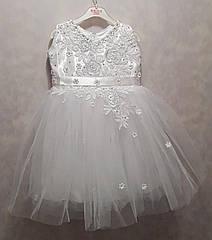 Новогоднее платье 3-5 лет (без шнуровки на молнии)