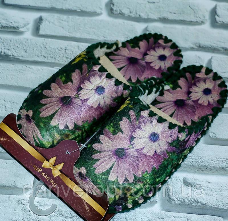 Тапочки домашние женские молодежные размер XS-XL купить оптом со склада 7км Одесса