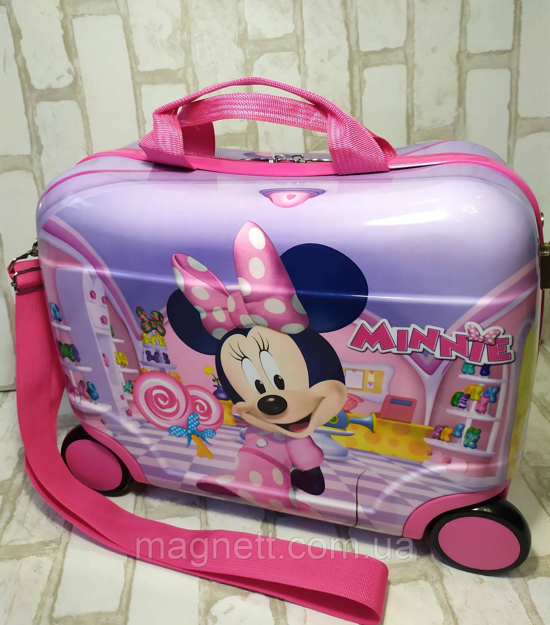 "Детский чемодан-каталка ""Минни Маус"""