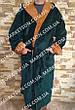 Мужской махровый халат с капюшоном р.46-62.Много размеров и цветов., фото 2