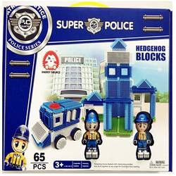"Конструктор-бристл ""SUPER POLICE"" 65 дет., Bh634"
