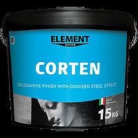 Декоративное покрытие CORTEN с эффектом окисленной стали
