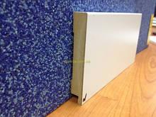 МДФ плинтус Белый Супер Профиль СП 1279 высота 79 мм + есть все цвета