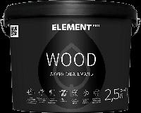 Акриловая эмаль для дерева WOOD