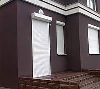 Защитные роллеты / рольставни Алютех на двери 1100х2300, фото 1