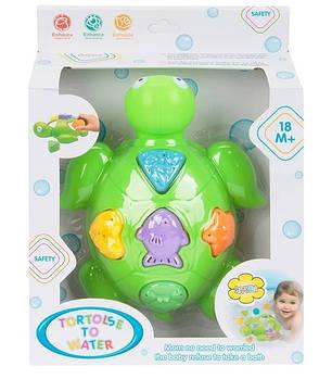 Игрушка для ванной 5533 Черепаха-сортер