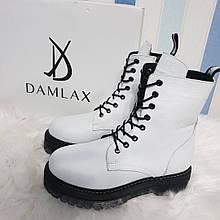 Жіночі шкіряні черевики на зиму