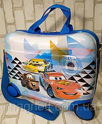 "Детский чемодан-каталка ""Тачки Макквин"""