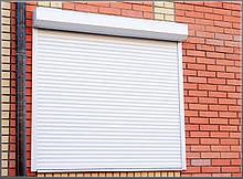 Защитные роллеты / рольставни Алютех на витрину 2000х1600