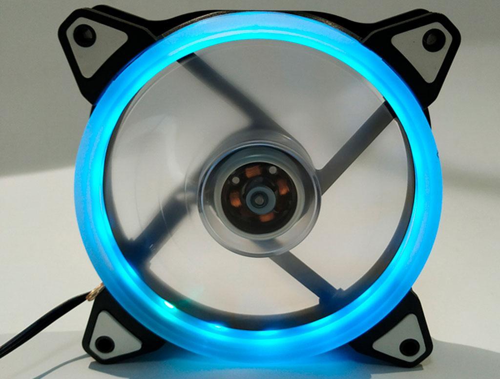 Вентилятор (кулер) для корпусу Cooling Baby 120мм RGB LED 12025RGB7