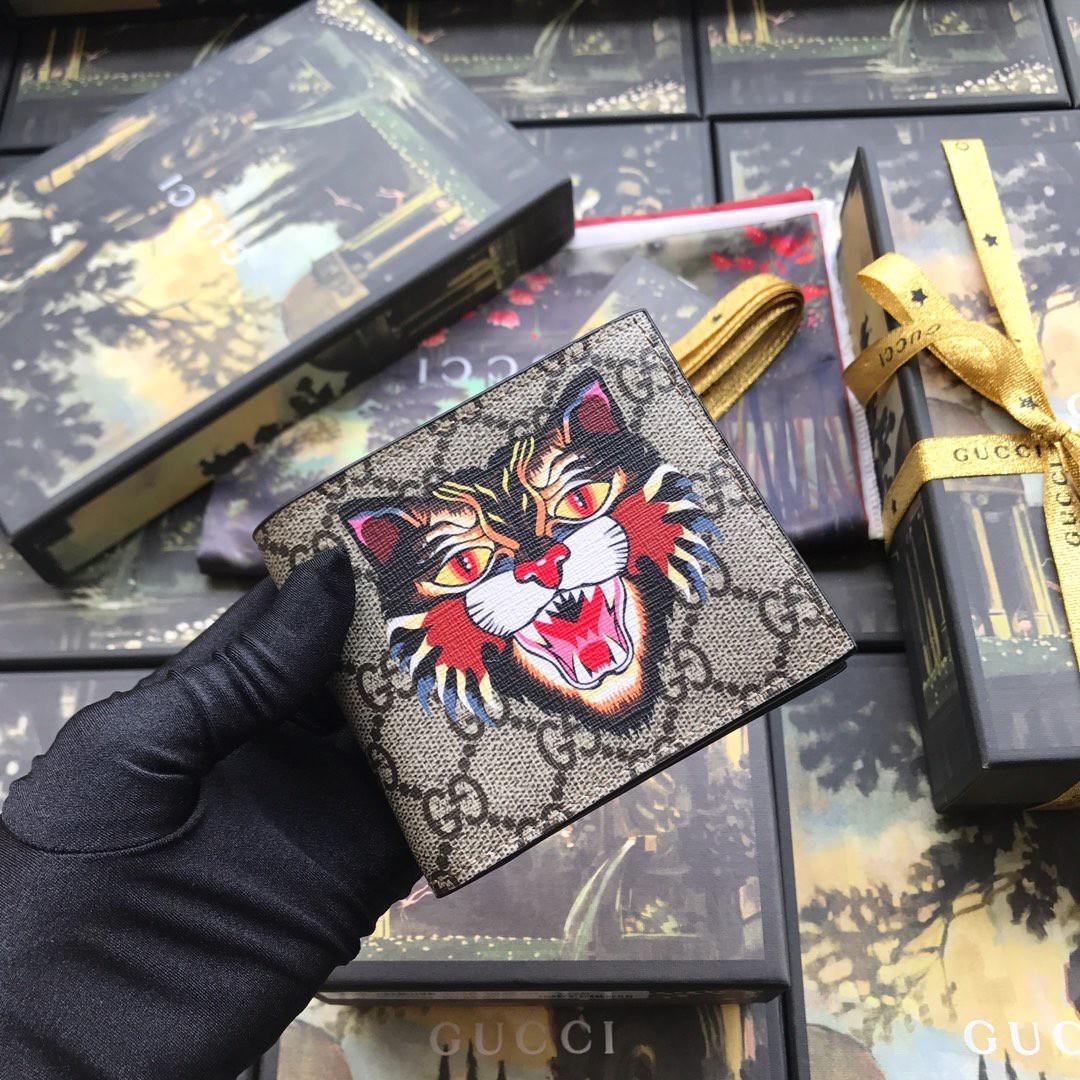 Черный портмоне Gucci, фото 1